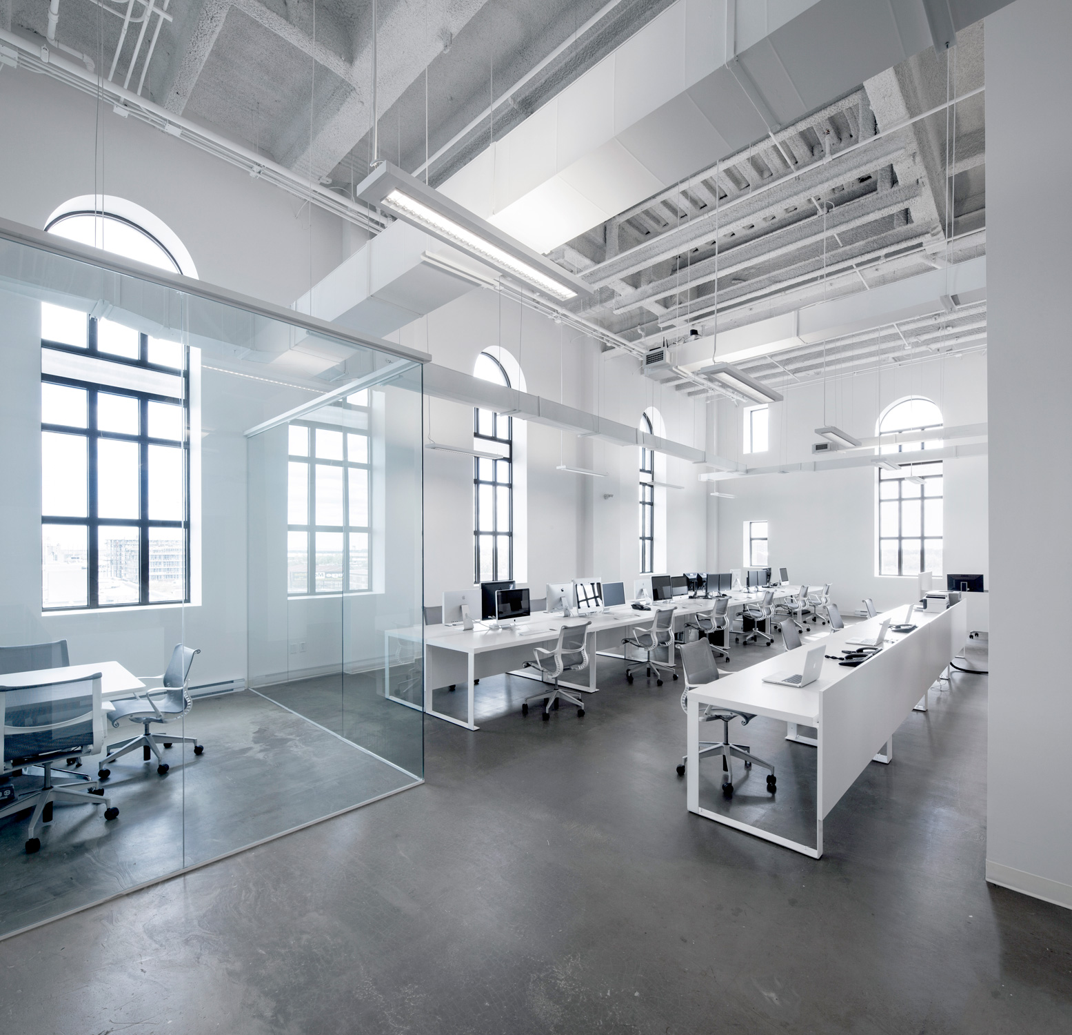 japanese office layout. Cool Office Space For FINE Design Group By Boora Architects   Spaces, And Japanese Layout I